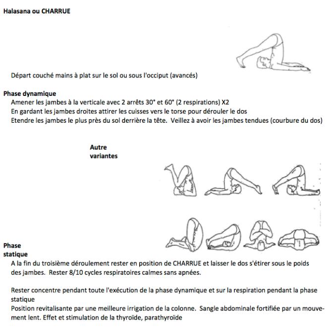 suite de ma séance de yoga /2